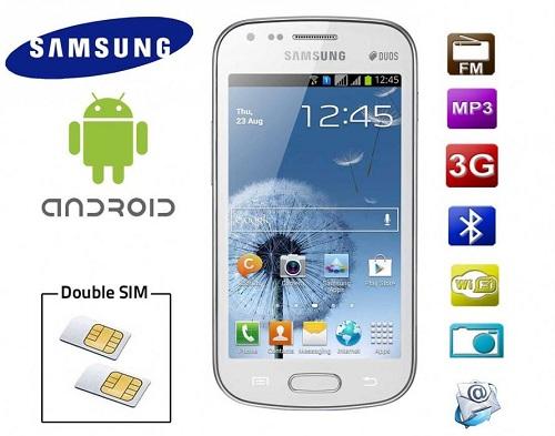 Samsung Dual Sim Phone Models of a Dual Gsm Sim Model