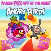 angry birds free apps