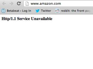 amazon crash